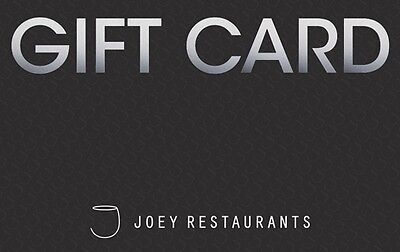 JOEY Restaurant Gift Card - $25 Mail Delivery