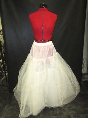 Unbranded Wedding Dress Slip w/ Net Tulle