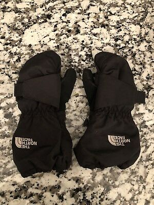 The North Face Toddler Black Ski Mittens 3T