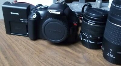 Canon EOS Rebel T3 Digital SLR Camera with EF-S 18-55mm - 75-300mm Lens