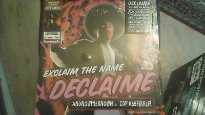 DECLAIME exclaim the name,  7 Track 12inch, MADLIB