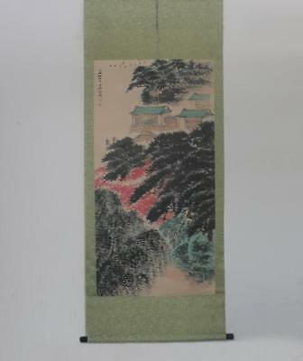Very Rare Chinese Hand Painting Scroll Jin Cheng (206)