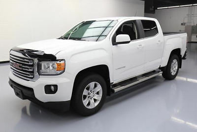 2017 GMC Canyon SLE Crew Cab Pickup 4-Door 2017 GMC CANYON SLE CREW REAR CAM SIDE STEPS 9K MILES #229302 Texas Direct Auto