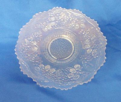 "Fenton Glass Plate - Crystal ""orange Tree"" Circa 1907 - Scarce"