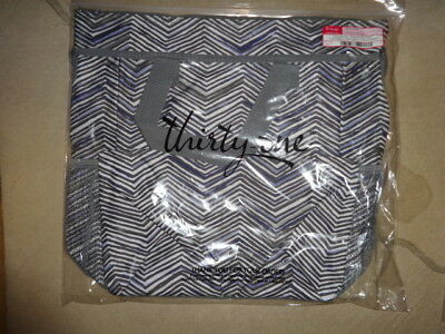 Thirty-One Thirtyone 31 Gifts Crossbody Organizing Tote Zig Zag Zoom NEW