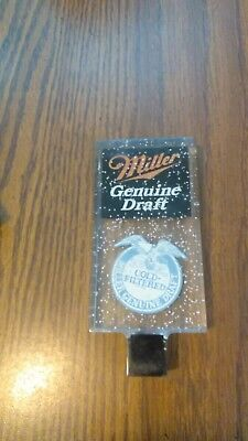 Beer Tap Miller Genuine Draft Cold Filtered Breweriana Collectibles