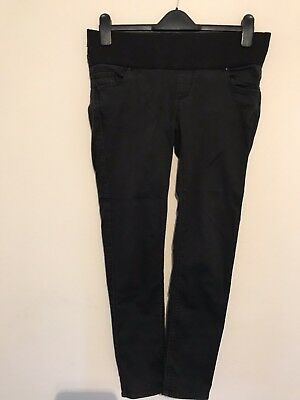 Women's Topshop Leigh Maternity Skinny Black Jeans Size 10