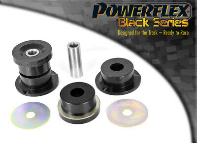 PFR5-3607BLK Powerflex Rear Subframe Front Mounting Bushes BLACK (2 in Box)