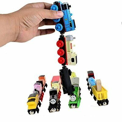 thomas train magnetic wooden car set works with thomas and friends  Pack of 2