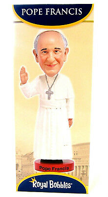 Pope Francis Royal Bobbles Figurine Limited Edition Bobblehead Action Figure