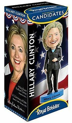 Hillary Clinton Royal Bobbles Usa Presidential Candidate Series Bobblehead