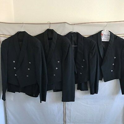 Lot of 4 Vintage 50's/60's US Air Force Officer's Mess Dress Uniforms