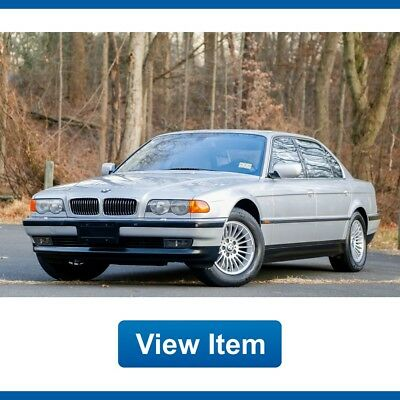 2000 BMW 7-Series Base Sedan 4-Door 2000 BMW 750IL EDC Loaded Dealer Serviced Super Low 59K mi Navigation carfax