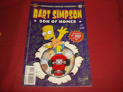BART SIMPSON #1  The Simpsons Bongo Comics USA EDITION 2000  NM/M