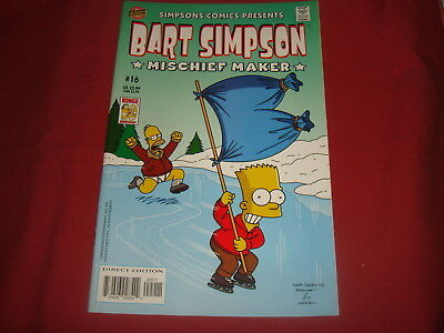 BART SIMPSON #16  The Simpsons Bongo Comics USA EDITION 2003  NM