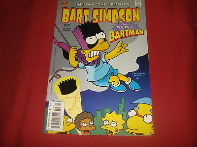 BART SIMPSON #17  The Simpsons Bongo Comics USA EDITION 2004  NM