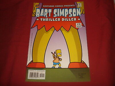 BART SIMPSON #18  The Simpsons Bongo Comics USA EDITION 2004  NM