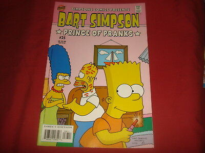 BART SIMPSON #25 The Simpsons Bongo Comics USA EDITION 2005  NM