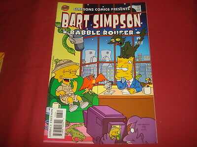 BART SIMPSON #9  The Simpsons Bongo Comics USA EDITION 2002  NM/M