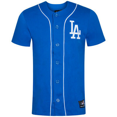 LA Dodgers MLB Herren Lipman Player Jersey Trikot Shirt Baseball Top blau neu