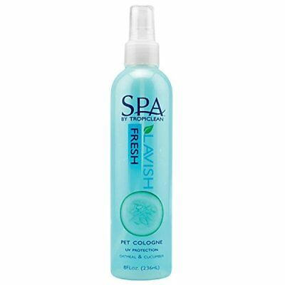 TropiClean Spa Fresh Comfort Pet Cologne All Natural Soap Free Dogs Cats 8 oz