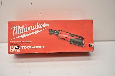 Milwaukee 2457-20 M12 Cordless Ratchet (Tool-Only)