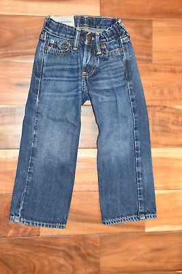 Boys Abercrombie And Fitch A&F Jeans Size 3/4