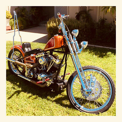 1976 Custom Built Motorcycles Chopper  1976 Harley Davidson Shovelhead Chopper NO RESERVE