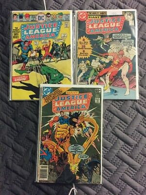 Justice League Of America Lot #127,139,152