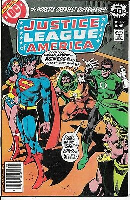 Bronze, JUSTICE LEAGUE OF AMERICA #167 DC June 1979 Society of Super Villains NM