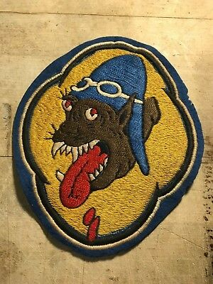 WWII / WW2 US AIR FORCE PATCH 36th Fighter Squadron-ORIGINAL Australian Made!