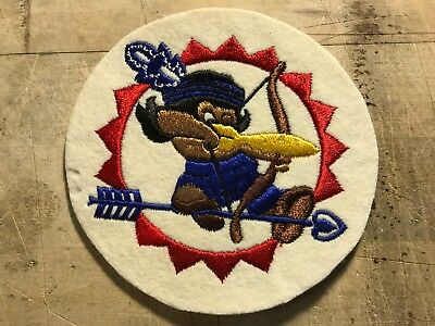 WWII WW2 US AIR FORCE PATCH 77th Bomb Squadron-ORIGINAL! BEAUTIFUL! USAF