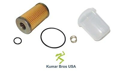 New Ford New Holland Fuel Filter/BOWL/Spring 1310 1510 1710