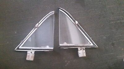 Holden Fx 48 - 52 Front 1/4 Vent Window Assembly - Pair - Good Condition