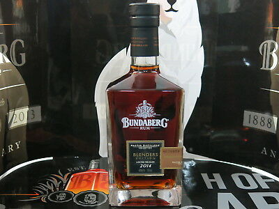 Bundaberg Rum 125Th Mdc Blenders Edtion 2014 With Neck Tag No 70950