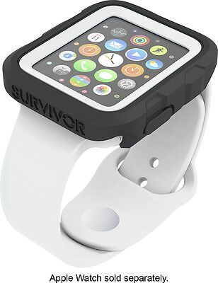 Griffin Technology - Survivor Tactical Cover for Apple Watch42mm - White