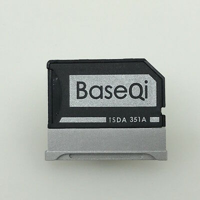 "BaseQi Aluminum MicroSD Adapter for Microsoft Surface Book 2 15"" (iSDA351ASV)"