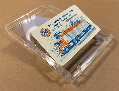 Vintage 1970s Playing Cards UNION 76 Truck Stop FORISTELL MO Unused BROCKWAY COE