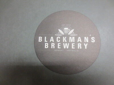 1 only BLACKMAN,S Micro BREWERY,Torquay,,Victoria ,BEER Coaster