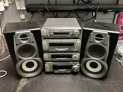 Technics 5 Disc Component Stack System