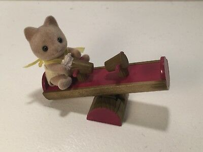Sylvanian Families Baby SeeSaw with Sylvanian Baby Included