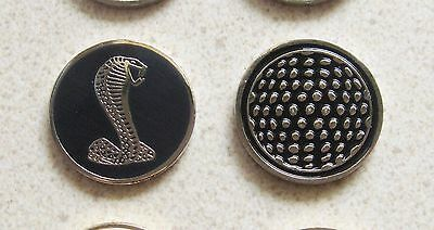 1 only COBRA SNAKE GOLF BALL MARKER approx 23mm