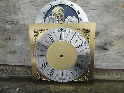 A New Unused Hermle  Longcase Clock Moon Roller Dial And Movement False Plate
