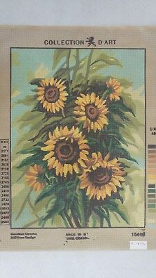 Sunflowers - Collection D'Art Tapestry Canvas 10413