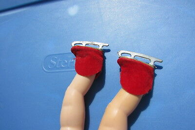 Madame Alexander Alexander Kins Doll Ice Skates Red Velvet Gorgeous Display