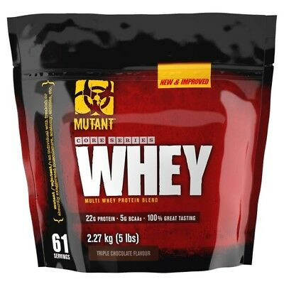 PVL Mutant Whey Protein Powder 2.27kg Lean Multi Whey Protein Blend Free P&P