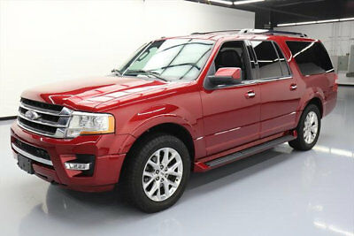 2017 Ford Expedition  2017 FORD EXPEDITION EL LIMITED 4X4 ECOBOOST NAV 51K MI #A11924 Texas Direct