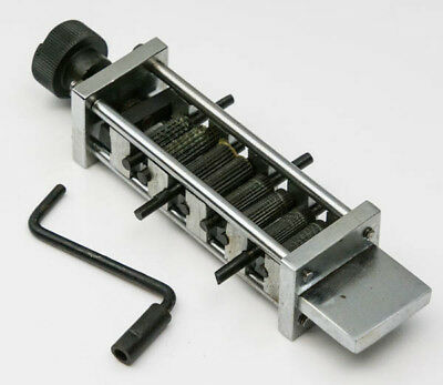 Rolling Mill New-Zig Zag Machine Metal Craft Forming Tool 4-IN-1 Pattern Steel