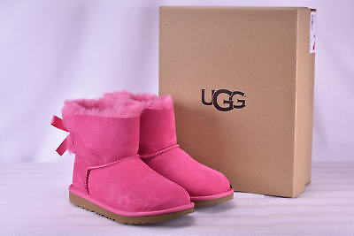 735bbb14800 Youth Girl's UGG 1017397K/PAZ Mini Bailey Bow II Boots Pink