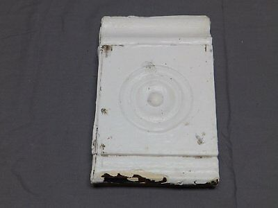 One Antique Moulding Bull's Eye Corner Block Victorian Shabby Vtg Chic 500-18P